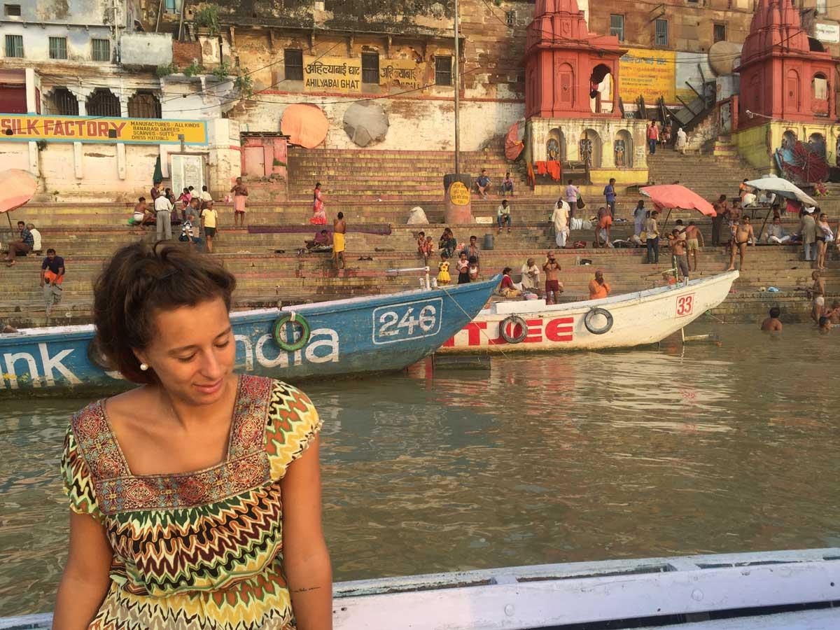 Río-Ganges-en-Varanasi,-India