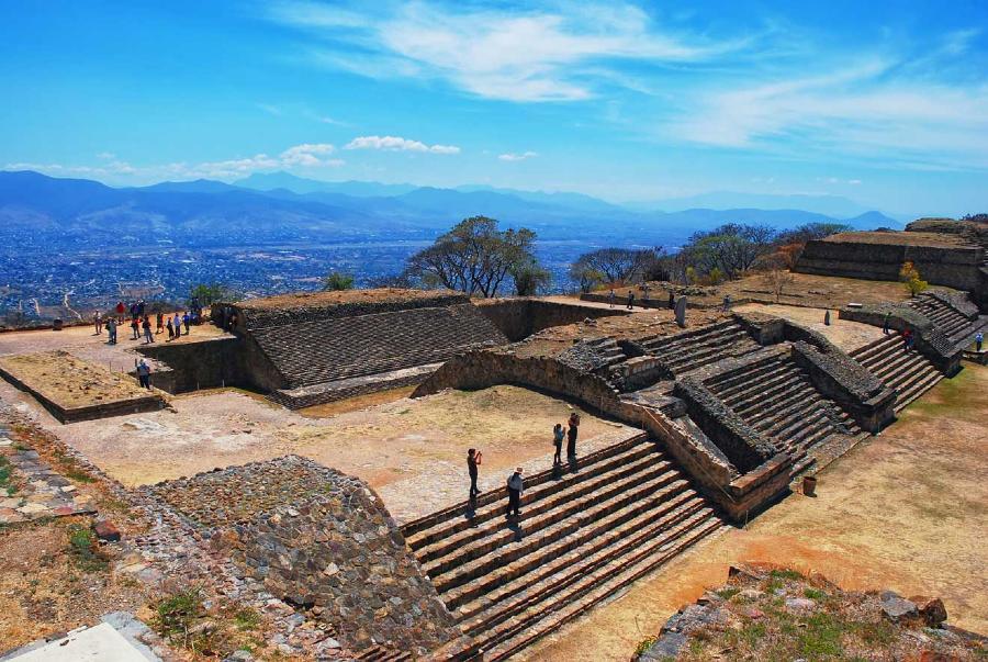 Zona Arqueológica de Monte Albán, Oaxaca