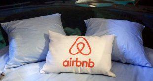 almohada de airbnb