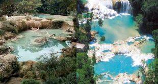 ¿Se están secando Las Cascadas de Agua Azul en Chiapas?