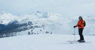 Esquiando-en-Whistler-en-Canadá