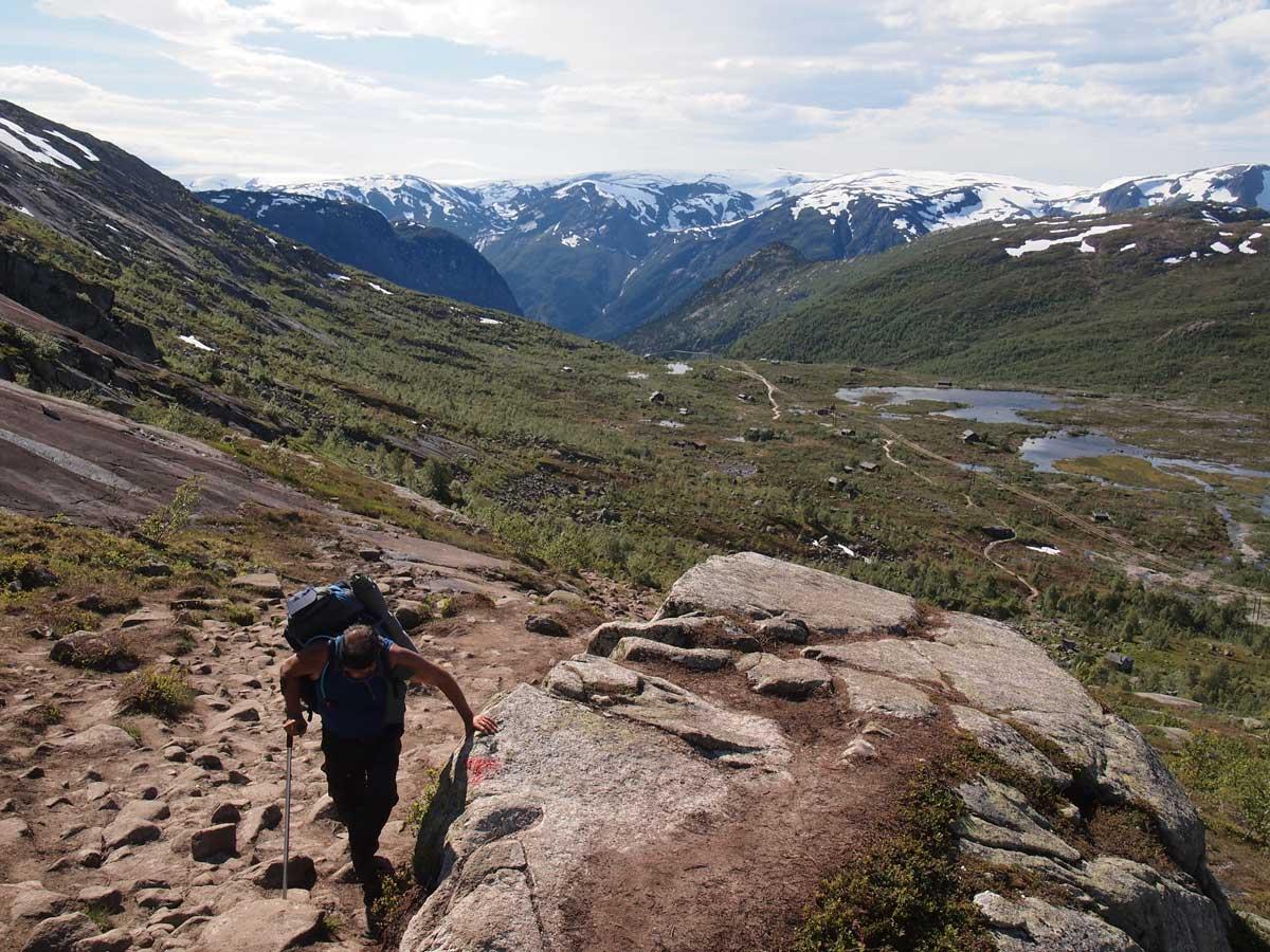 Skjeggedal,-Noruega