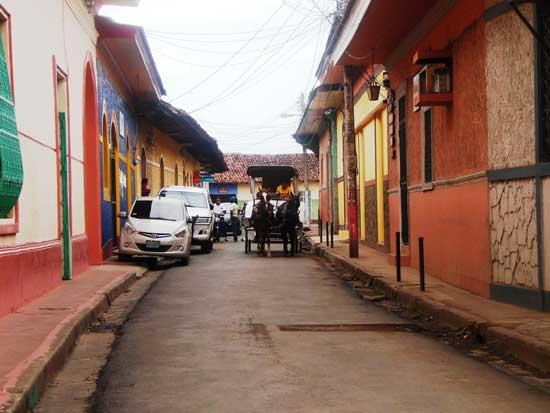 Calles-de-Granada,Nicaragua