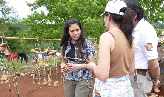 Huella Guaraní, Misiones.