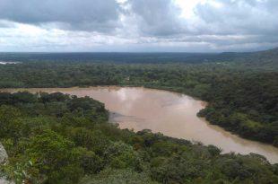 Paisaje del Rio Guayabero en Bocas de Raudal de San José del Guaviar