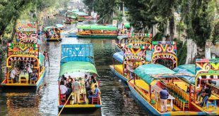 trajineras xochimilco 2018