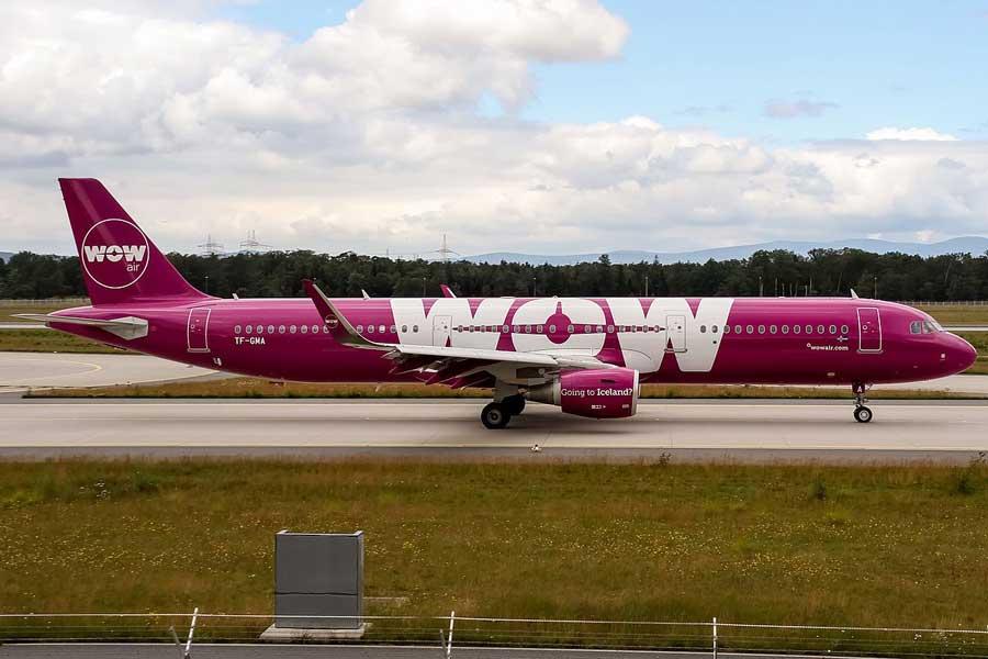 Avión de la aerolínea tailandesa WOW