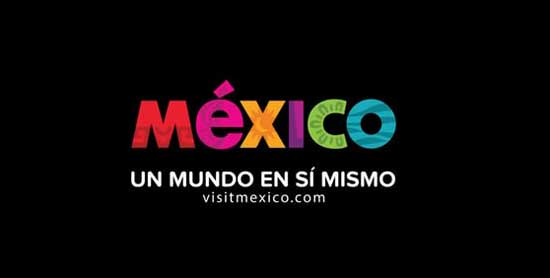 Logotipo y slogan de México turismo