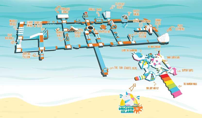 Mapa de la Isla Infable