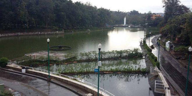 El Paseo de los Lagos del Dique en Xalapa Veracruz