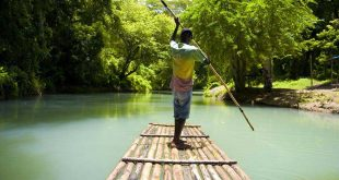 Rafting balsa bambu