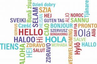 hola en diferentes idiomas