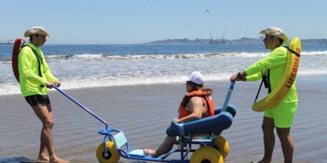 sillas anfibias turismo accesible