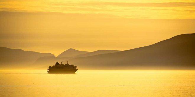 El Expreso del Litoral de la compañía Hurtigruten