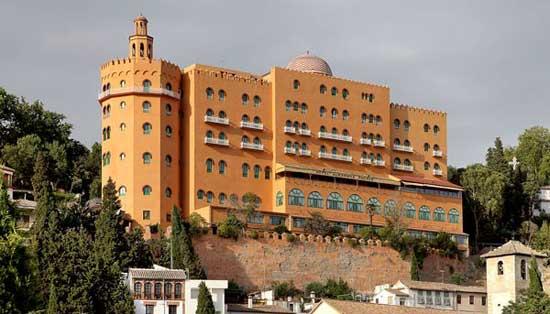 Hotel Alhambra Palace edificio