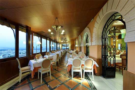 Hotel Alhambra Palace restaurante