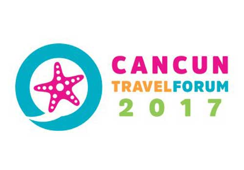 Logo Cancún Travel Fórum 2017