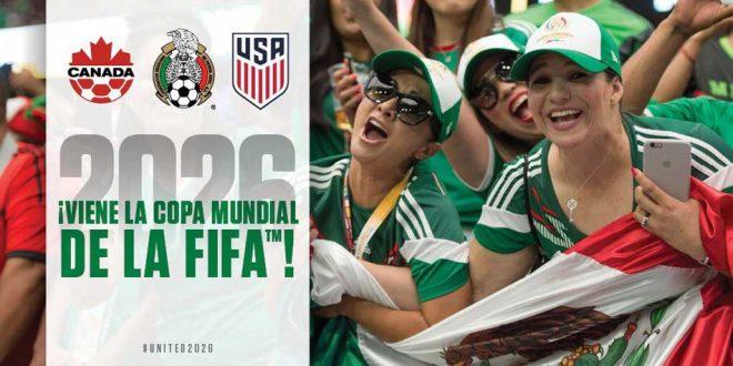 México será sede de la copa del mundo 2016