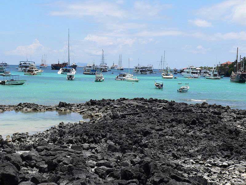 Puerto Ayora en las Islas Galápagos
