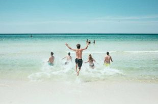 amigos viajeros en Cancún