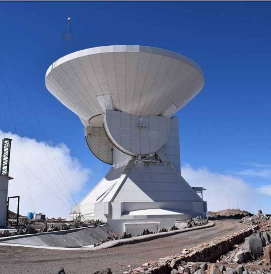 gran telescopio milimétrico alfonso serrano