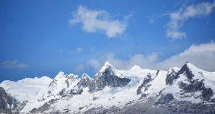 Cordillera Blanca en Perú
