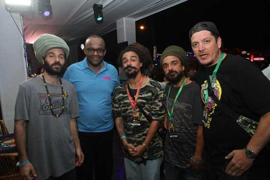 Dread Mar I en el Reggae Sumfest