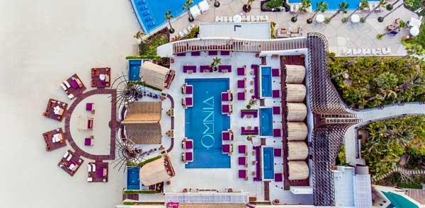 OMNIA Dayclub desde un dron