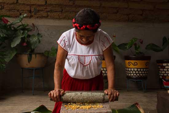molienda del maiz