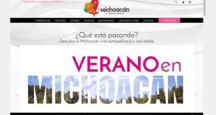 Portal digital de turismo de Michoacán