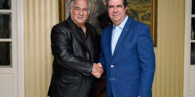 Francisco Javier García y Miguel Torruco Marqués