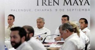 Gobernadores del Sur Tren Maya