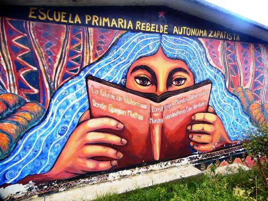 Mural en Caracol Oventic