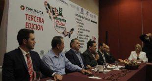 Presentación de la 3a. Fiesta de Todos los Chiles Mexicanos en Yahualica