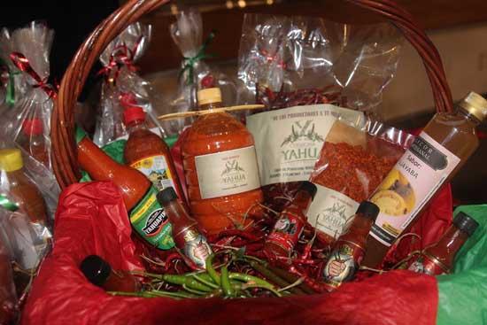 Productos de Chile Yahualica