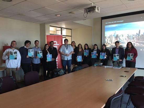 Alumnos de la Universidad Tecnológica de Chile