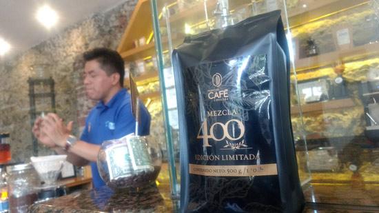 Barista en el museo del café