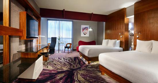 Deluxe Room Double del hard rock hotel Guadalajara