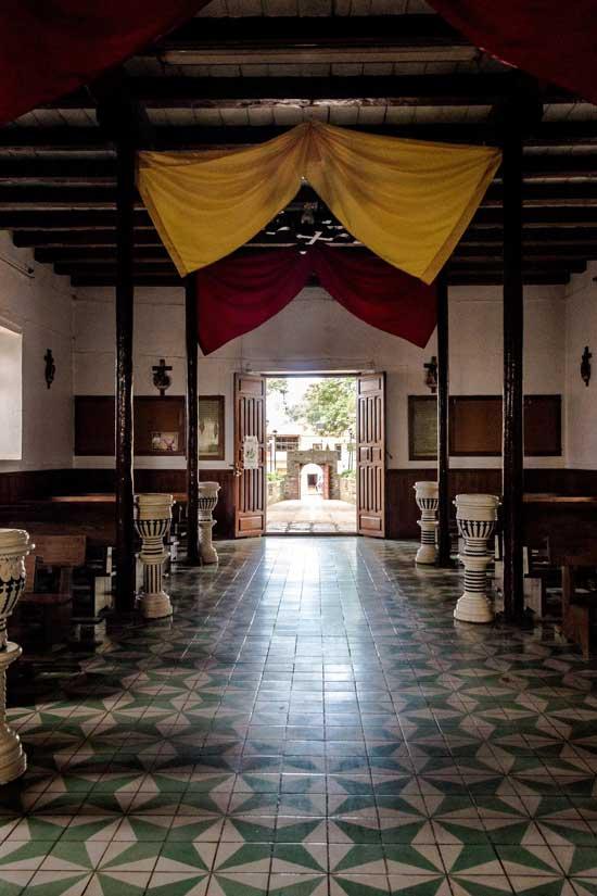 Interior de la Capilla del Señor Ocotito