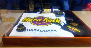 Playera del hotel Hard Rock Guadalajara