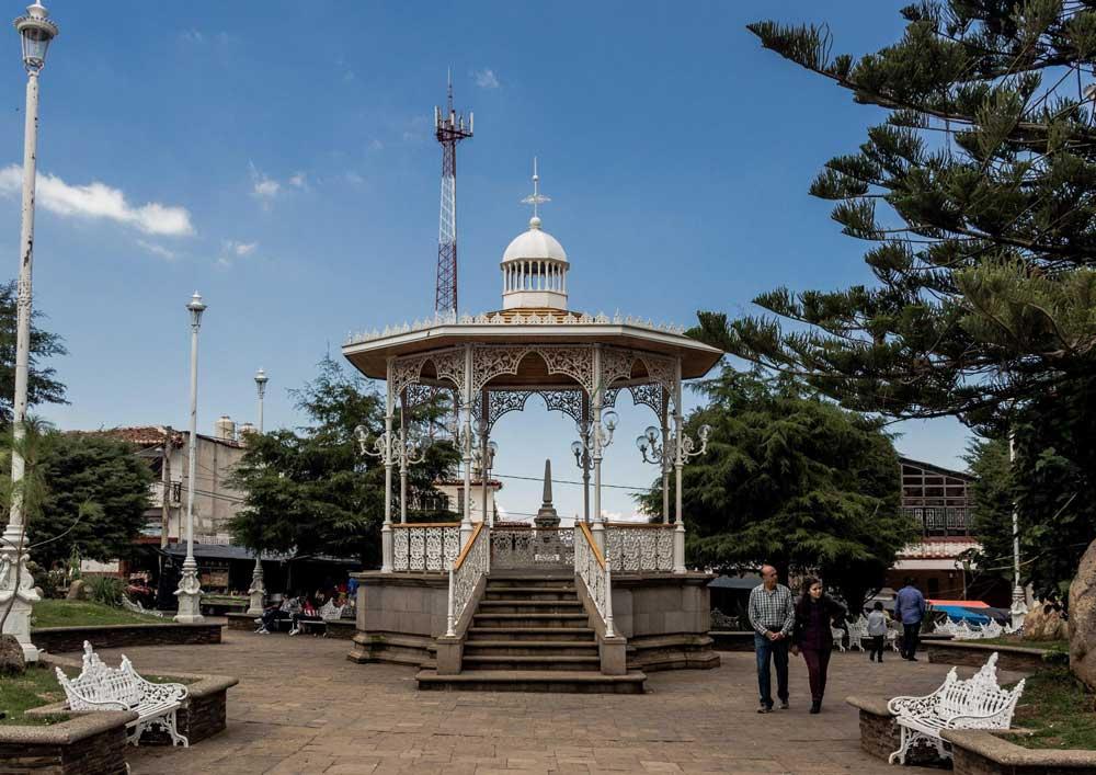 Plaza Central de Atemajac de Brizuela