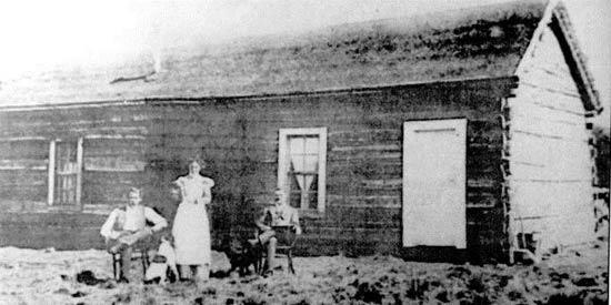 Cabaña de Cassidy en Cholila