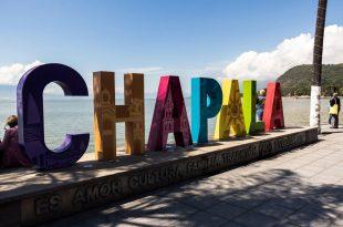 Letras monumentales de Chapala