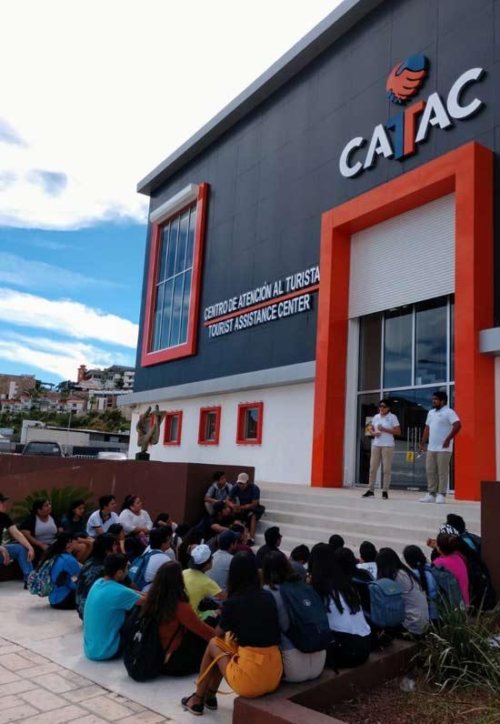 Centro de Atención al Turista en la Marina Cabo San Lucas