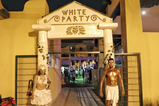 White party Riu Palace