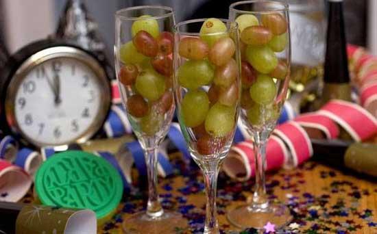 uvas fin de año