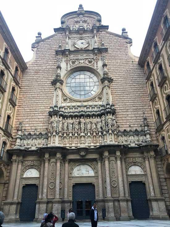 Entrada al Monasterio de Montserrat