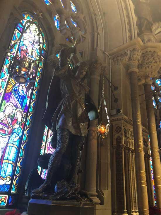 Interior Monasterio de Montserrat