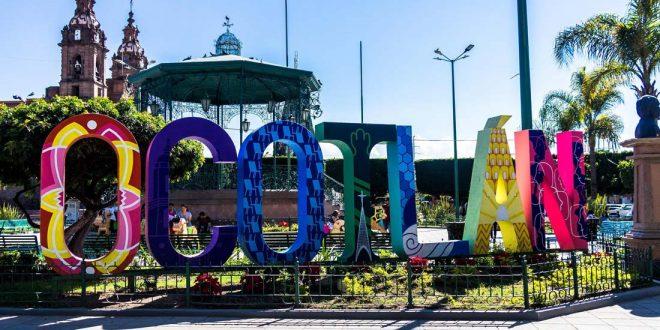 Plaza Central de Ocotlán