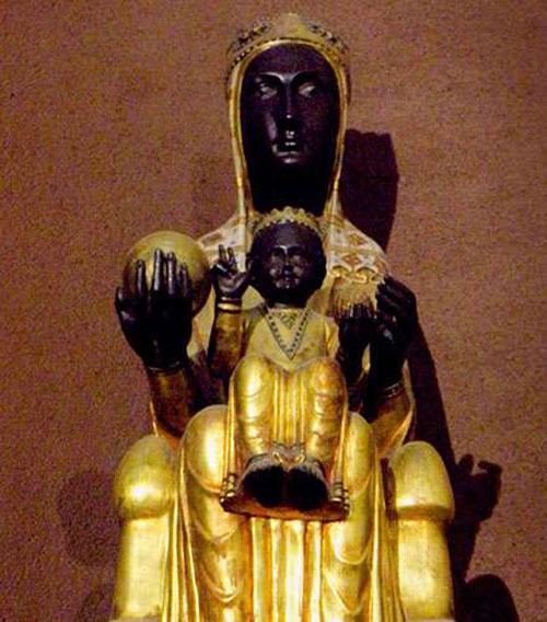 virgen negra de Monserrat